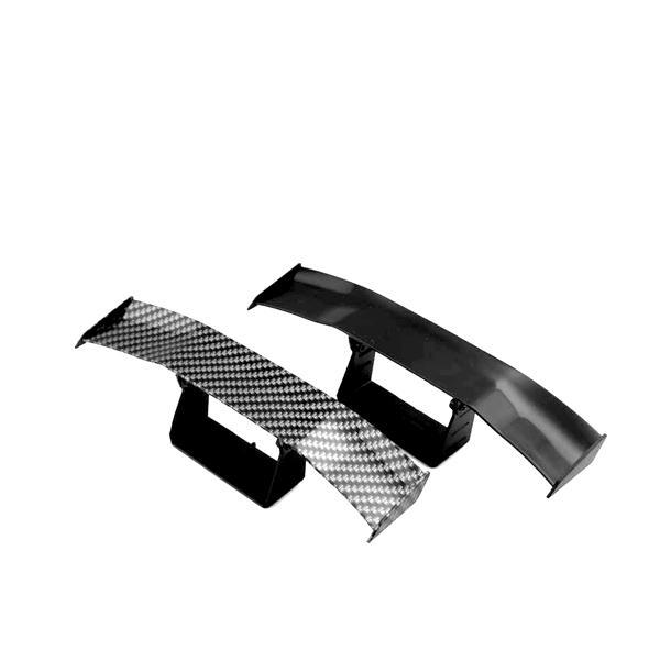 ミニ GTウイング ミニチュア カーパーツ カスタム 小型 ダミー おもちゃ 角度調整 ネタ 車 汎用|rebias