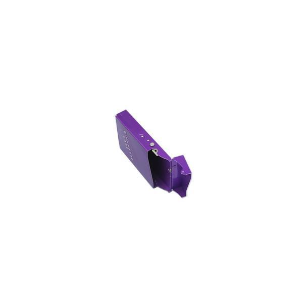 メタル シガーケース スリム タバコ ワンタッチ シンプル 軽量 シガレットケース
