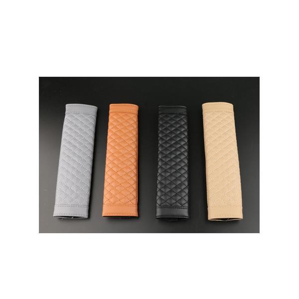 シートベルト カバー レザー 保護 クッション ドレスアップ カスタム カー用品 SEATBELT
