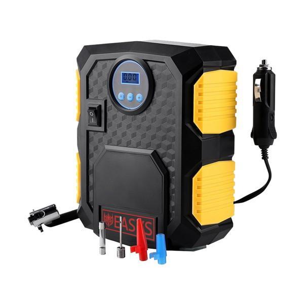 自動車用 タイヤ 空気入れ シガーソケット用 エアーコンプレッサー デジタル Kgf DC12V|rebias