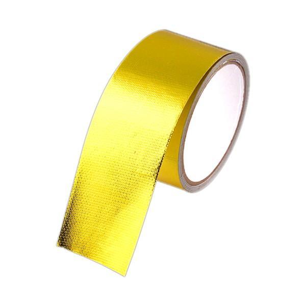 耐熱テープ 50mm×5m ドレスアップ エンジンルーム 給気 排気 効率 UP カスタム 車 バイク 汎用 rebias