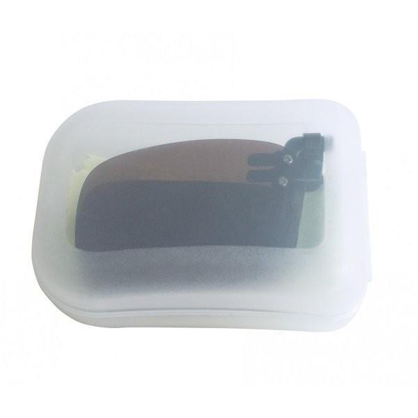 クリップオン 折りたたみ式 偏光 サングラス 前掛け ハードケース付き グレー ブラウン|rebirthlife|14