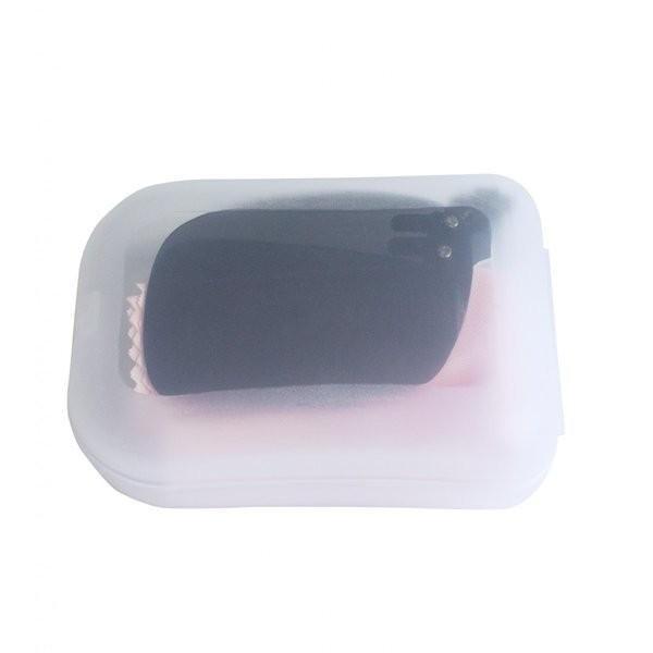 クリップオン 折りたたみ式 偏光 サングラス 前掛け ハードケース付き グレー ブラウン|rebirthlife|04