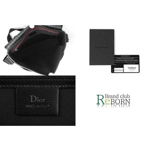 〔未使用品〕ディオールオム/DIOR HOMME メッセンジャーバッグ ダークライトコーティングキャンバス×カーフレザー グレー×ブラック 1DLME084XIS