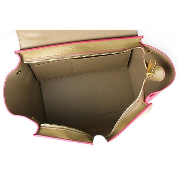 〔良品〕〔A+ランク〕セリーヌ/CELINE トラペーズ スモール(2WAYハンドバッグ) カーフスキン Fushia(フューシャピンク) 174683WTB.25FH