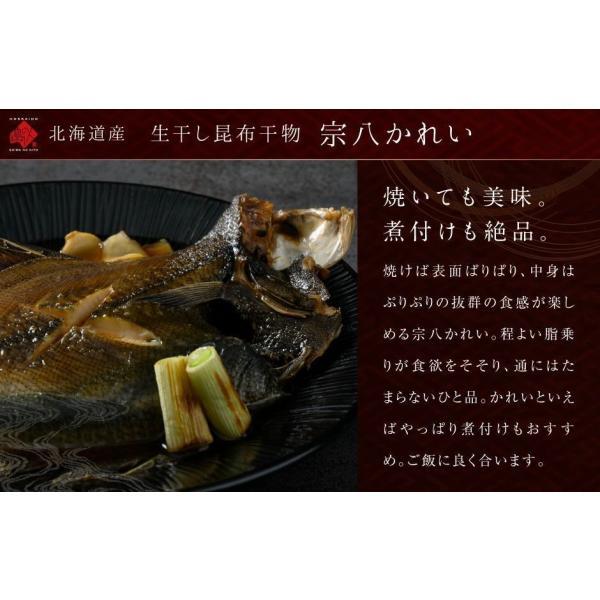 干物 北海道 ホッケ ニシン サバ 秋鮭 八角 カレイ 特選干物セット(7種7尾入り) 送料無料|rebun|05