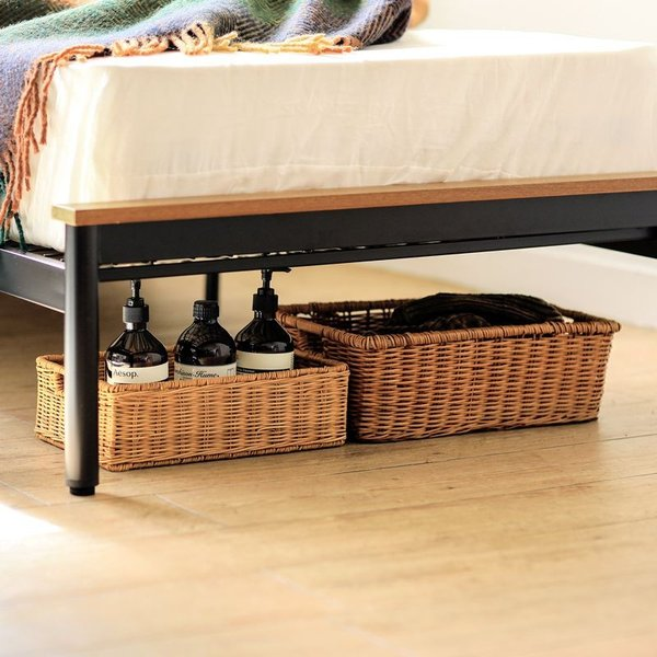 ベッド CINERARIA セミダブルサイズ フレームのみ ヴィンテージ 西海岸 インダストリアル 送料無料|receno|19