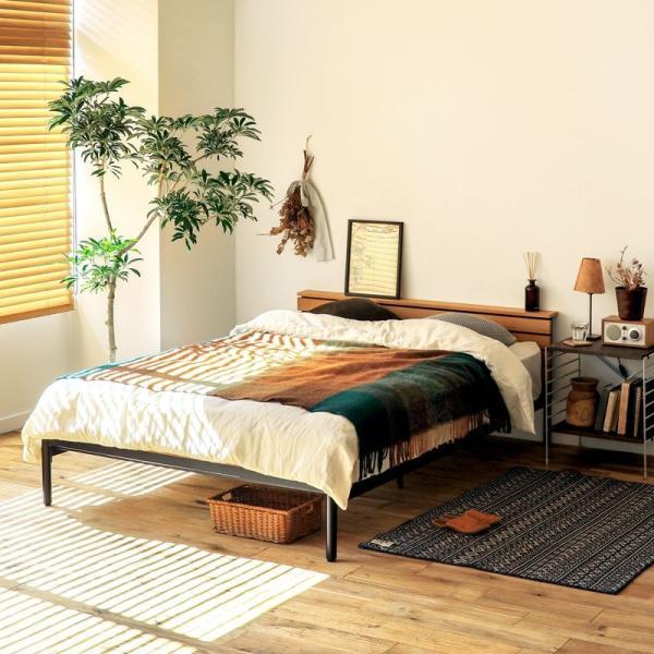 ベッド CINERARIA セミダブルサイズ フレームのみ ヴィンテージ 西海岸 インダストリアル 送料無料|receno|04