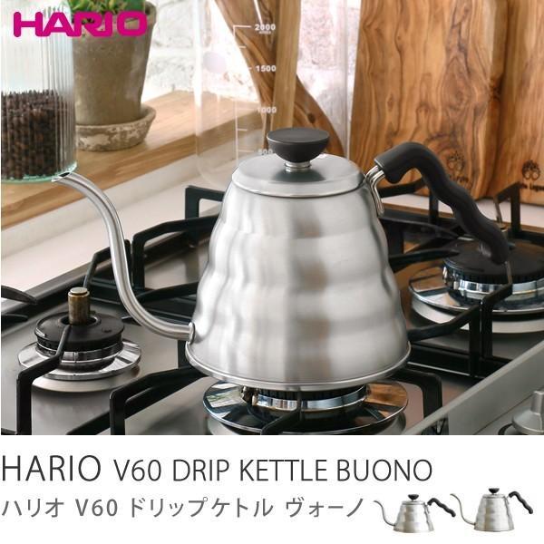 HARIO V60ドリップケトル ヴォーノ(600ml) VKB-100HSV/あすつく|receno