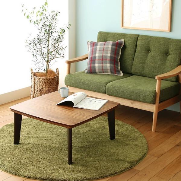 こたつテーブル PINON 正方形 幅75cmタイプ/送料無料/【即日出荷対応】|receno|02