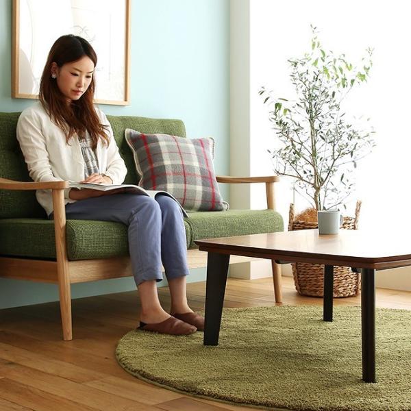 こたつテーブル PINON 正方形 幅75cmタイプ/送料無料/【即日出荷対応】|receno|03