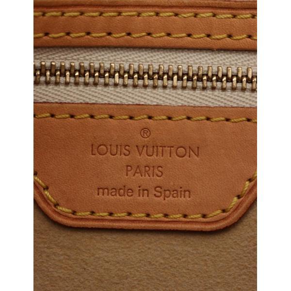 ルイ ヴィトン LOUIS VUITTON ハムステッドPM ダミエアズール トートバッグ PVC レザー 白 N51207 レディース 中古