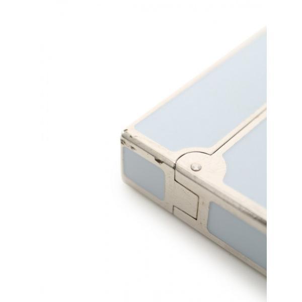 デュポン S.T. Dupont LINE2 ライン2 ライター ブルーグレー シルバー メンズ 中古|reclo-as-shopping|07