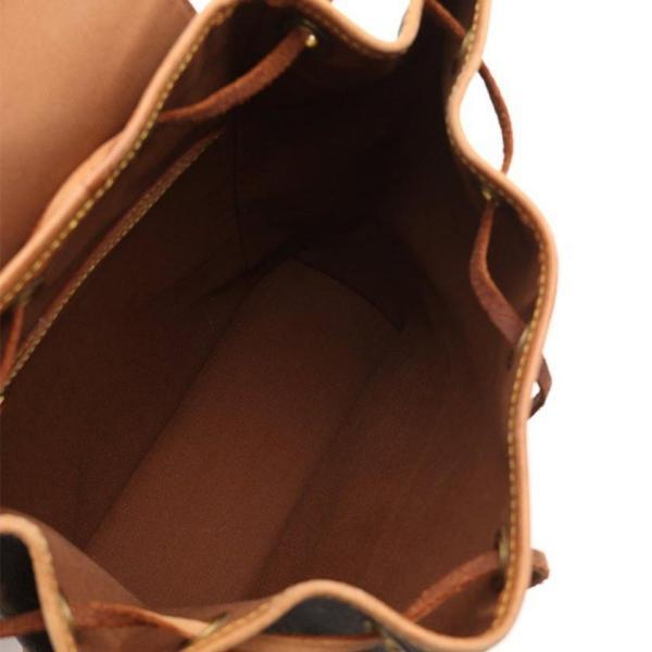 ルイ ヴィトン LOUIS VUITTON モンスリMM モノグラム リュックサック バックパック PVC レザー 茶 M51136 レディース 中古|reclo-as-shopping|05