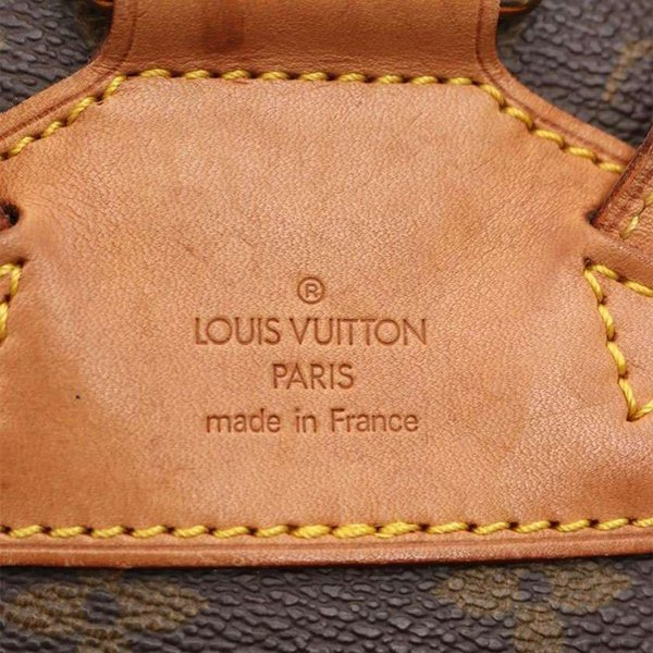 ルイ ヴィトン LOUIS VUITTON モンスリMM モノグラム リュックサック バックパック PVC レザー 茶 M51136 レディース 中古|reclo-as-shopping|06
