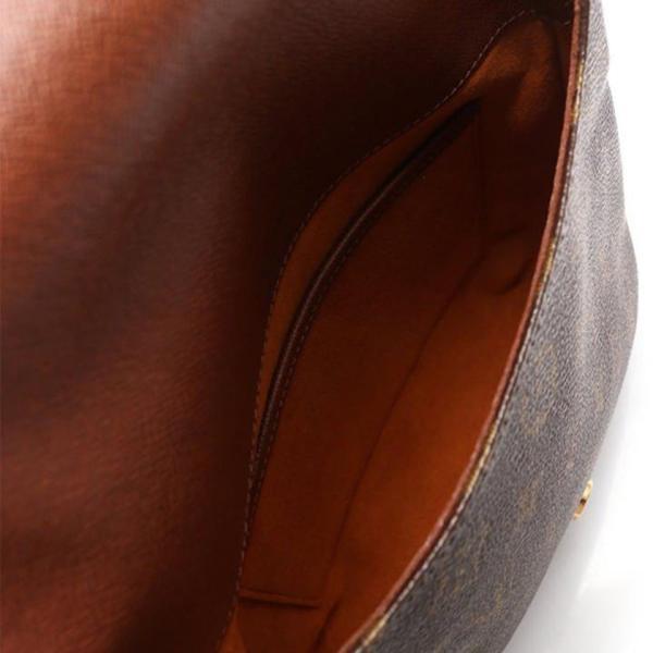 ルイ ヴィトン LOUIS VUITTON ミュゼットサルサ ショートストラップ モノグラム ショルダーバッグ PVC レザー 茶 M51258 レディース 中古|reclo-as-shopping|05