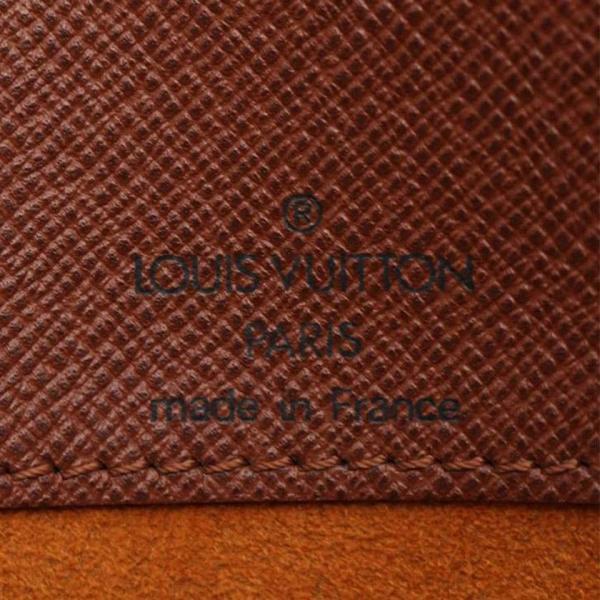 ルイ ヴィトン LOUIS VUITTON ミュゼットサルサ ショートストラップ モノグラム ショルダーバッグ PVC レザー 茶 M51258 レディース 中古|reclo-as-shopping|06