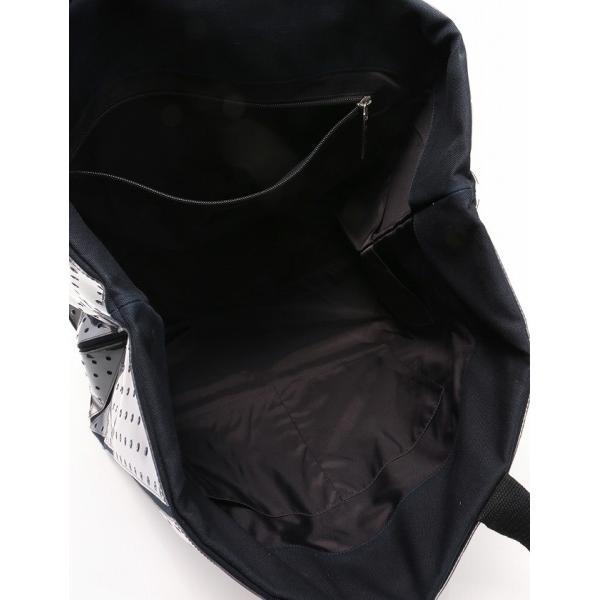 CHANEL シャネル スポーツライン トートバッグ ココマーク パンチング加工 黒 白 ネイビー 2009クルーズライン A46096 レディース 中古 reclo-as-shopping 05