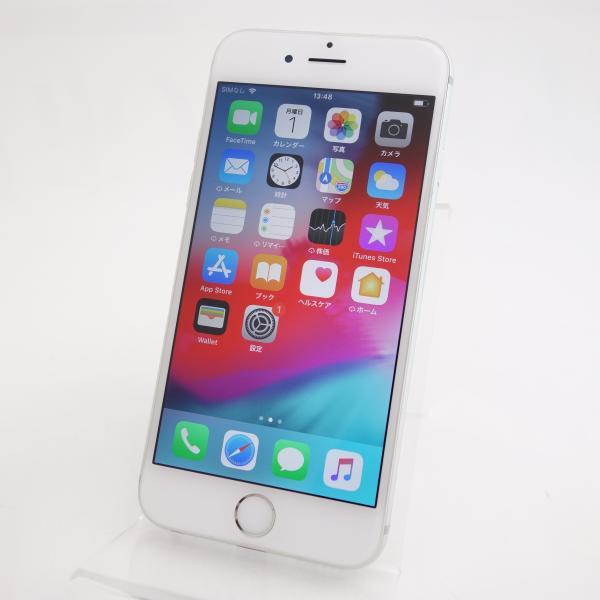 【auSIMロック】 iPhone6 64GB シルバー NG4H2J/A #5583|reco