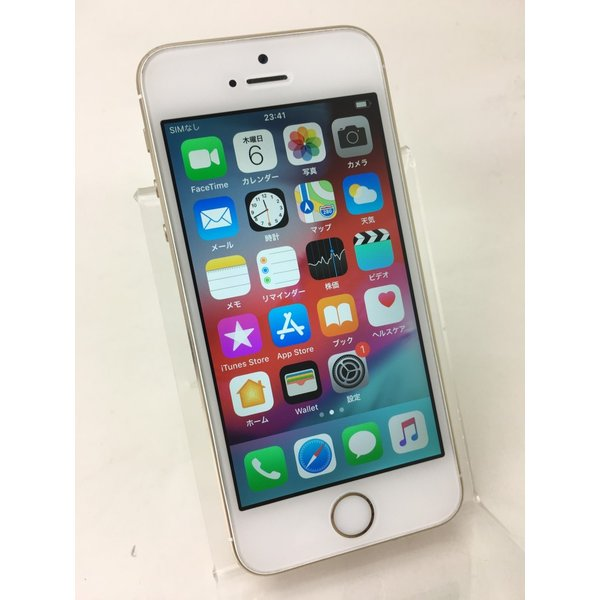 【docomoSIMロック】iPhone5S 64GB ゴールド ME340J/A reco