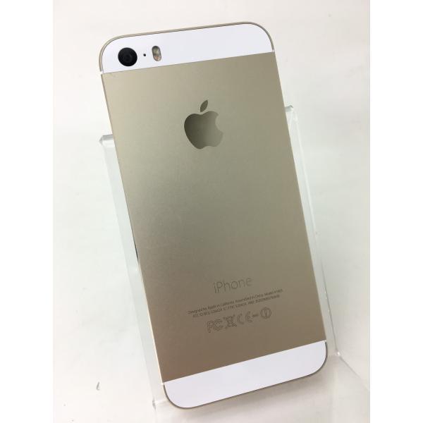 【docomoSIMロック】iPhone5S 64GB ゴールド ME340J/A reco 02