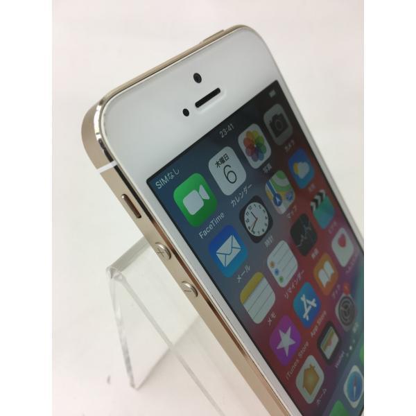 【docomoSIMロック】iPhone5S 64GB ゴールド ME340J/A reco 03