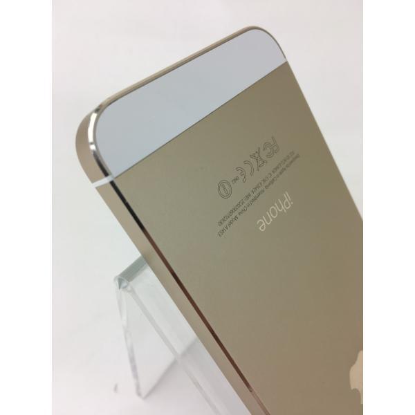 【docomoSIMロック】iPhone5S 64GB ゴールド ME340J/A reco 06
