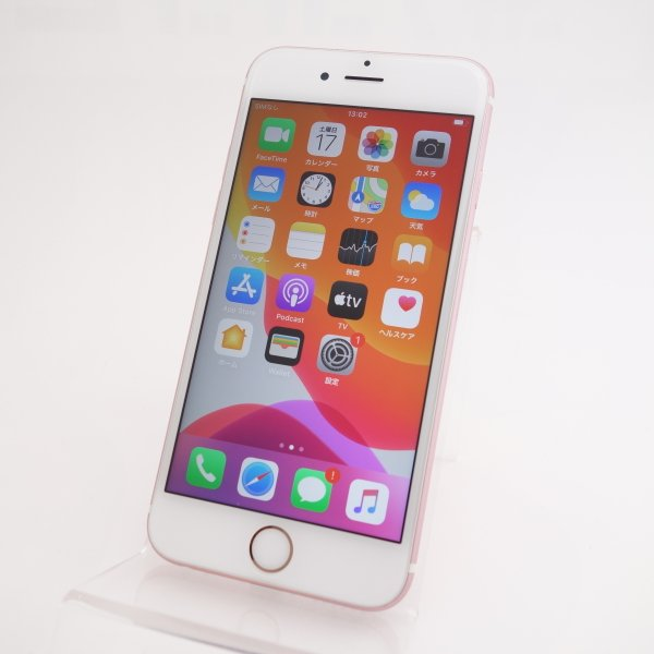 【SIMフリー】 iPhone6S 16GB ローズゴールド 3A503J/A #5345|reco