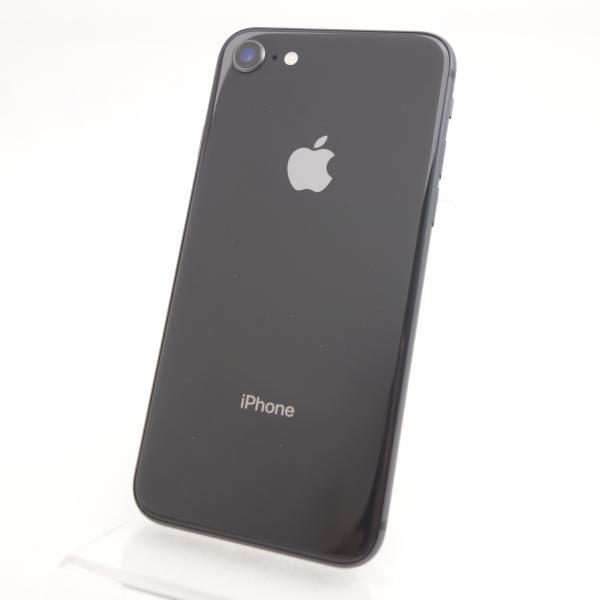 【SIMフリー】 iPhone8 64GB スペースグレイ MQ782J/A #3274 reco 02
