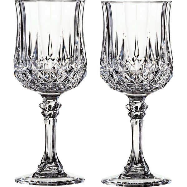 クリスタル・ダルク ロンシャン ワイン ペアグラスセット