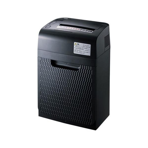 サンワサプライ オートフィードシュレッダー 150枚・マイクロカット PSD-MAF150 シュレッダー 裁断機 オフィス 紙 処分 代引不可