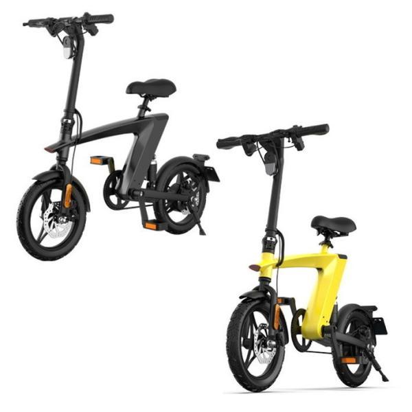 電動自転車 H1-YE 自転車 e-bike 電動 電気 代引不可
