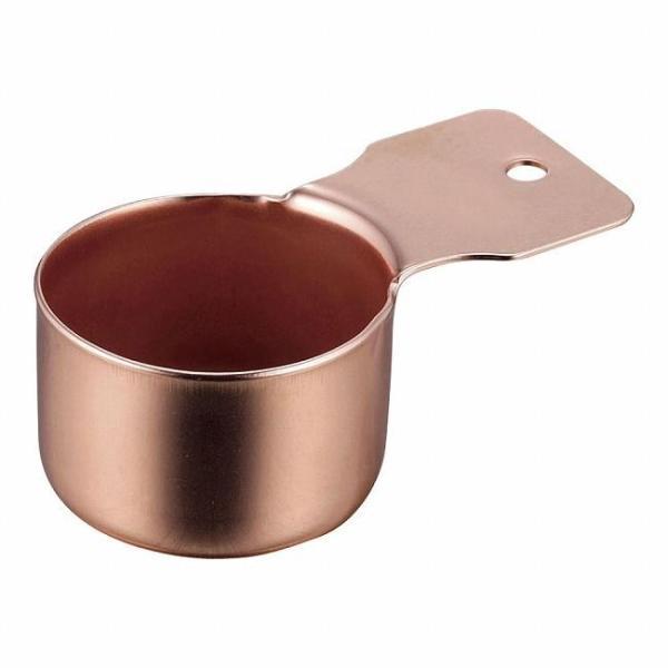高桑金属 18-8コーヒーメジャースプーンショート 銅 FKM0403