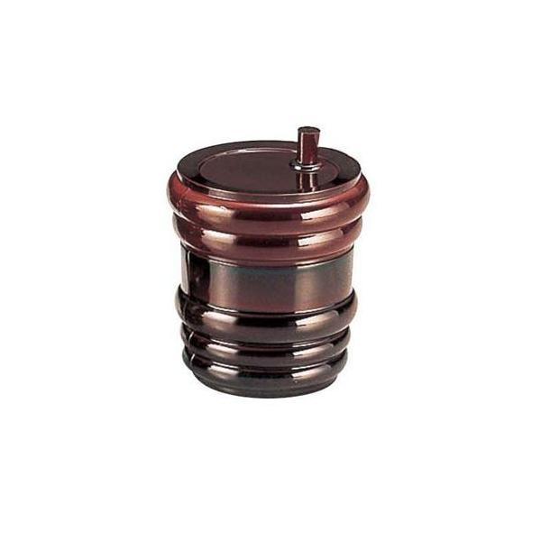 福井クラフト ABS製 樽型 七味入 溜 82121000 RST7701