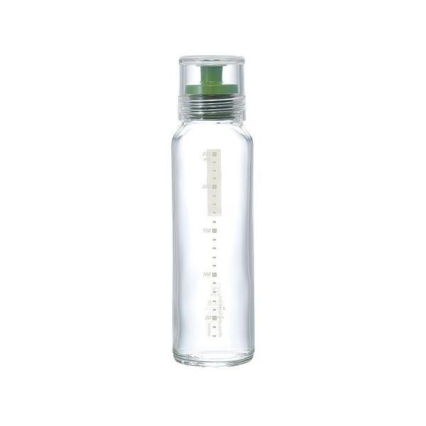 ハリオ ドレッシングボトルスリム 240 グリーン BDL9203