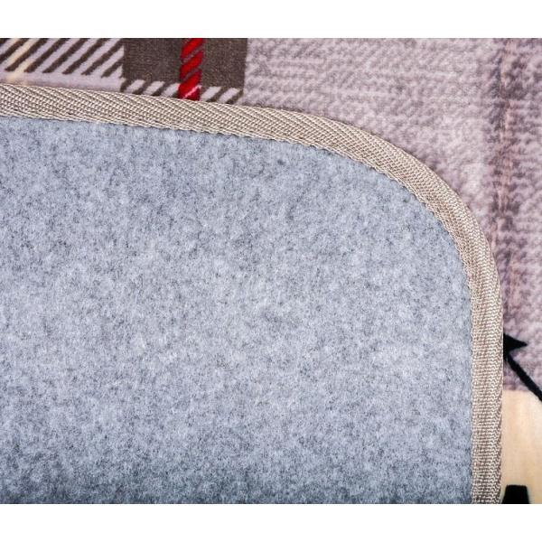 ホットカーペットカバー エクスプローラー 約185×185cm GY 代引不可
