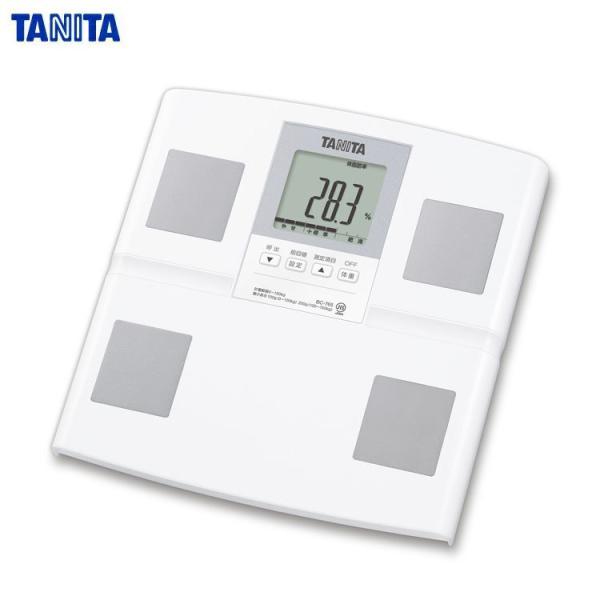 メーカー1年保障タニタTANITA体組成計ホワイトBC765WH