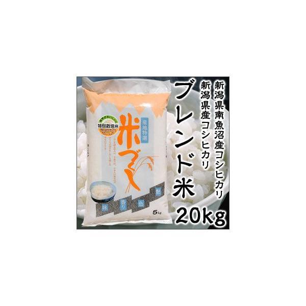 令和2年度産 新潟県 南魚沼産 コシヒカリ 新潟県産 コシヒカリ ブレンド米 20kg 特別栽培米 新米