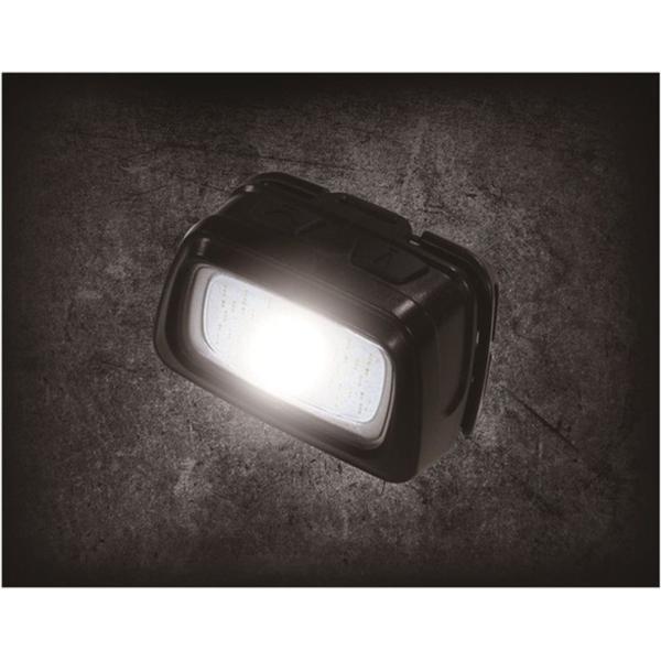 イチネンミツトモ LED+COB スポット&ワイド ヘッドライト 240LM 電池式 代引不可