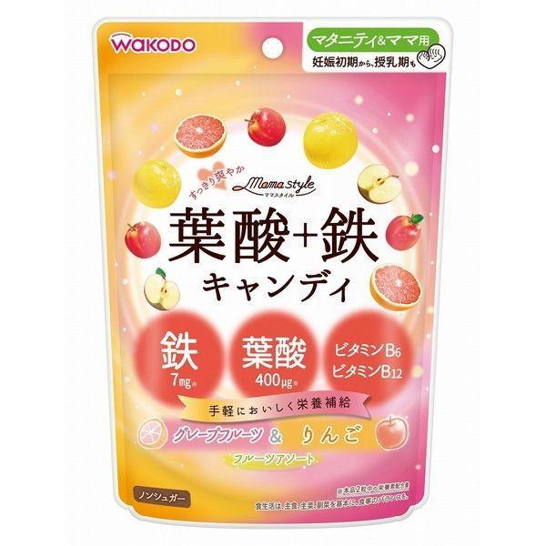 和光堂 ママスタイル 葉酸+鉄キャンディ 78g
