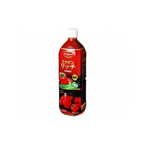まとめ買い デルモンテ リコピンリッチ トマト飲料 ペット 900g x12個セット まとめ セット セット買い 業務用 代引不可