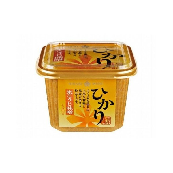 まとめ買い ひかり味噌 米こうじ味噌 カップ 750g x8個セット まとめ セット セット買い 業務用 代引不可