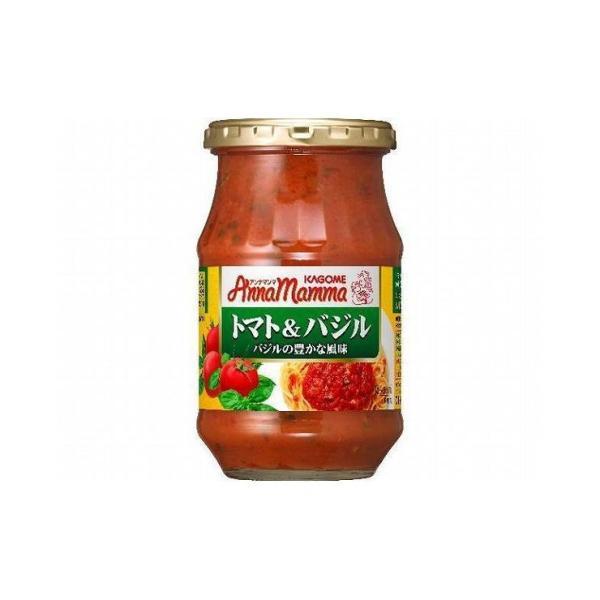 まとめ買い カゴメ アンナマンマ トマト&バジル 瓶 330g x6個セット まとめ セット まとめ売り セット売り 業務用 代引不可