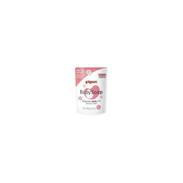 ピジョン 株 ベビー全身泡ソープフラワーの香り詰替 400ML 化粧品