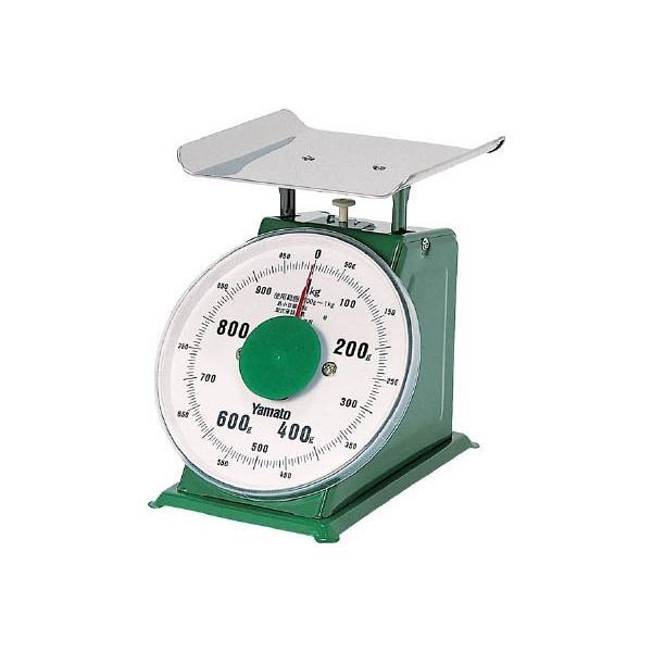 ヤマト 中型上皿はかり YSM−1 1kg YSM-1 計測機器・はかり