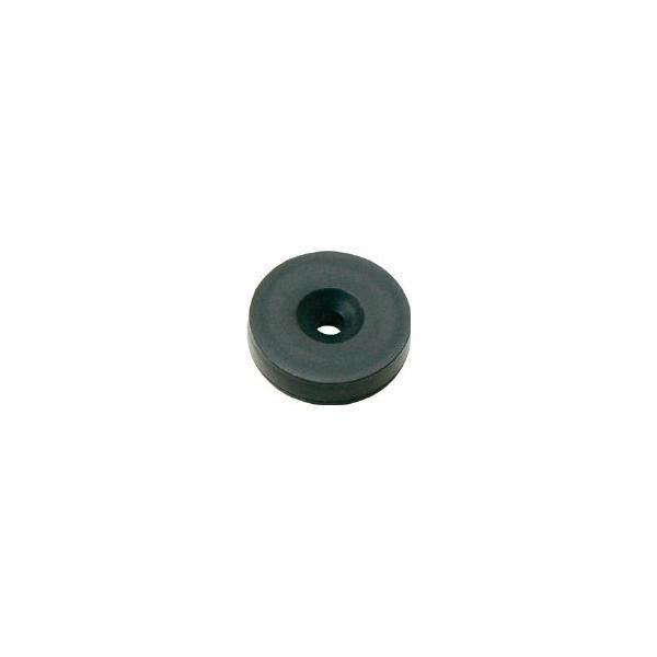 マグナ プレートキャッチ シリコンコーティング磁石 1-NCS20R-BK マグネット用品・マグネット素材