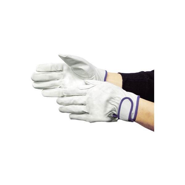 富士グローブ EX-233 白 M 5965 作業手袋・革手袋