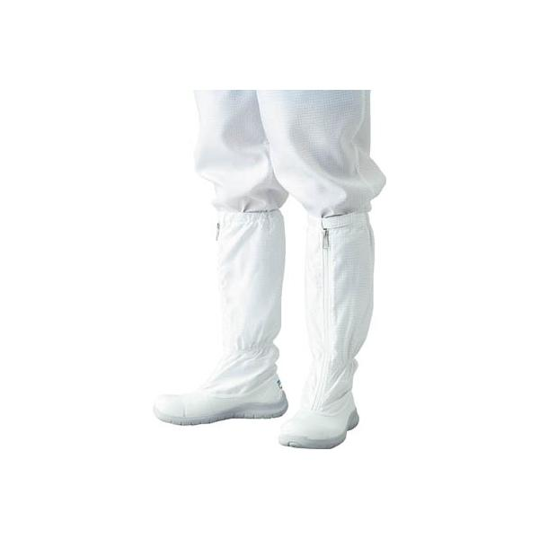 ADCLEAN シューズ・安全靴ロングタイプ 24.5cm G7760-1-24.5 安全靴・作業靴・静電作業靴