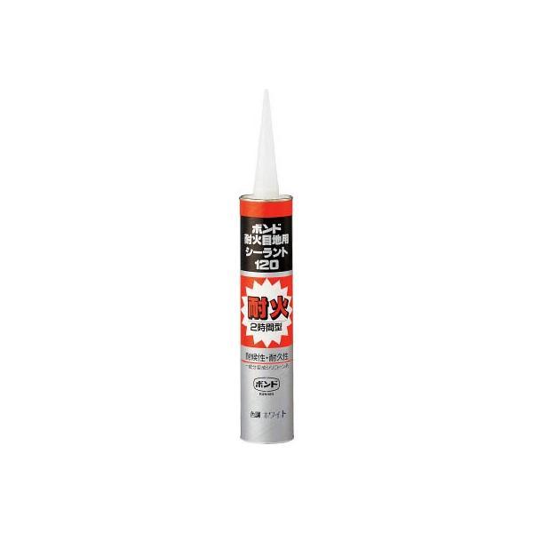 コニシ 耐火目地用シーラント120 ホワイト 333ml 59478 接着剤・補修剤・建築用シーリング剤