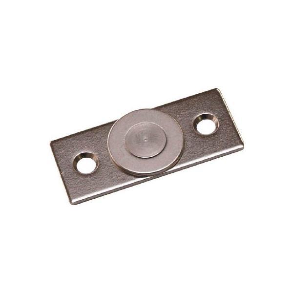 マグナ ネオジ磁石プレートキャッチ 薄型 1-NCC40LT マグネット用品・マグネット素材